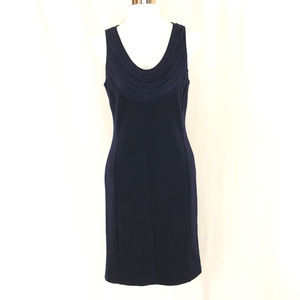 Banana Republic Sheath Dress Wool Blend Sleeveless